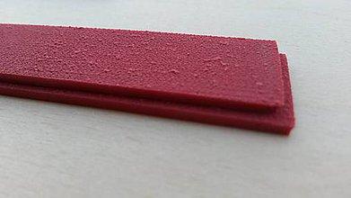 Suroviny - Linatex zúžená, 26x2,2x1,5cm x 1,8mm 800% - 5835068_