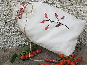 Úžitkový textil - Vrecko na sušené šípky - 5836906_