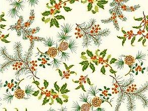 Textil - Vianočná látka - 5837831_
