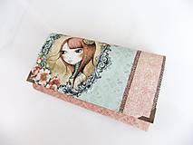 Mirabelle I.- peněženka 17 cm i na karty