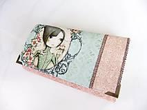 Peňaženky - Mirabelle II.- peněženka 17 cm i na karty - 5837013_
