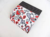 Peňaženky - Když ji miluješ.. - peněženka17 cm na spoust karet - 5837101_