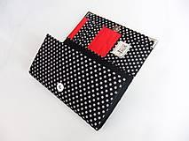 Peňaženky - Když ji miluješ.. - peněženka17 cm na spoust karet - 5837102_