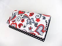 Peňaženky - Když ji miluješ.. - peněženka17 cm na spoust karet - 5837103_