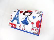 Peňaženky - S Polly v Paříži - peněženka i na karty - 5837226_
