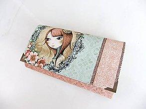 Peňaženky - Mirabelle I.- peněženka 17 cm i na karty - 5836970_