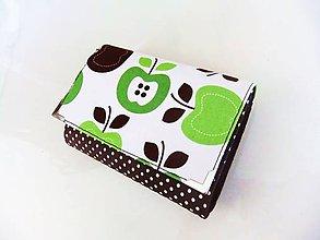 Peňaženky - Apple - peněženka i na karty 13 cm - 5837360_