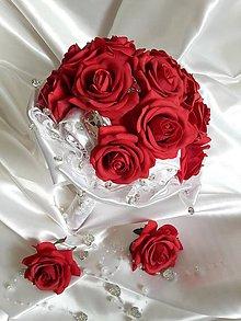 Kytice pre nevestu - Z ruží... - 5836436_