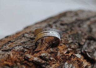 Prstene - Rukou prírody písané obrúčky - 5838583_