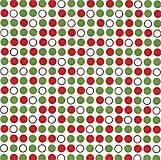 Textil - Vzor 100 - červeno-zelené bodky - 5838345_