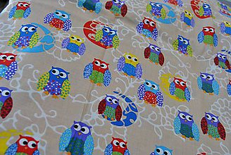 Textil - SOVIČKY NOVÉ - vzor 150 - 5838366_