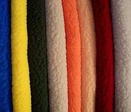 Textil - Vzorkovník - fleece - 5840338_
