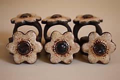 Dekorácie - Krúžky na servitky 6ks - 5841390_