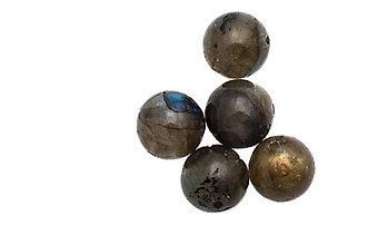 Minerály - Labradorit 10mm - 5838309_