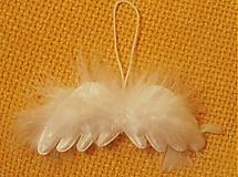 Anjelské krídla - sada 4 kusy