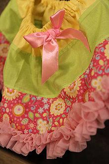 Detské oblečenie - farebná suknička - 5841609_