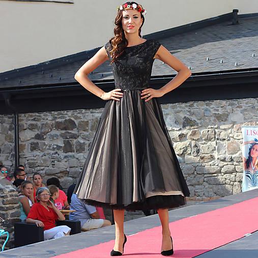 8c2dbe2c4e6 Tylové spoločenské šaty vo vintage štýle   Dyona - SAShE.sk ...