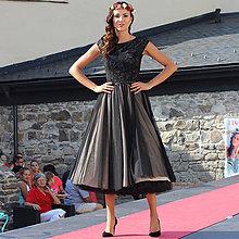 14129981b216 Šaty - Tylové spoločenské šaty vo vintage štýle - 5840886