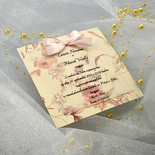 8724785841 Svadobné oznámenie   Pastelka11 - SAShE.sk - Handmade Papiernictvo