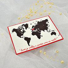 Papiernictvo - Svadobné oznámenie Mapa - 5840375_