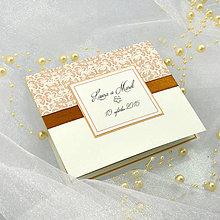 Papiernictvo - Svadobné oznámenie - 5840592_