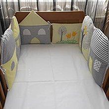 Textil - Hniezdo-domčeky Yellow pastel - 5842922_