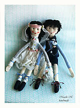 Darčeky pre svadobčanov - SVADOBNÝ PÁRIK na objednávku - 5842019_