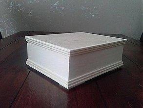 Polotovary - Krabica z masívu vyrezaná BD, ihneď - 5843677_