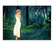 Grafika - Madonna - Chodenie po vode A2 Print - 5846729_
