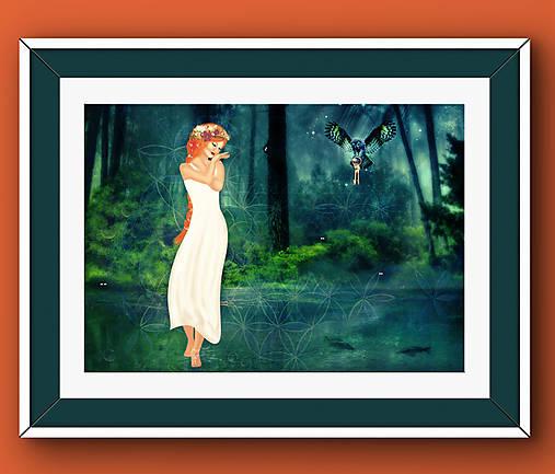 Madonna - Chodenie po vode A2 Print