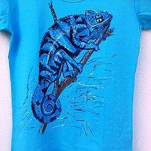 Tričká - Chameleon jemenský - 5846126_