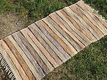 Úžitkový textil - Ručne tkaný koberec 70 x 150 cm - 5845068_