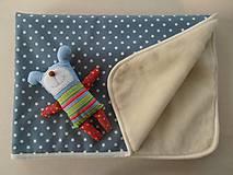 Úžitkový textil - Deka / prikrývka HVIEZDA merino - 5846661_