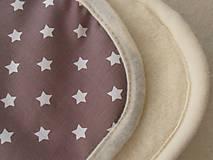 Textil - MERINO blanket De Luxe Star brown - 5846736_