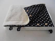 Textil - Black and White Merino Blankets 75 x 105 cm - 5847125_