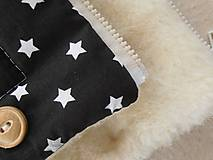 Textil - Black and White Merino Blankets 75 x 105 cm - 5847128_