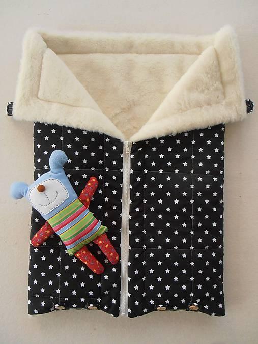 Black and White Merino Blankets 75 x 105 cm