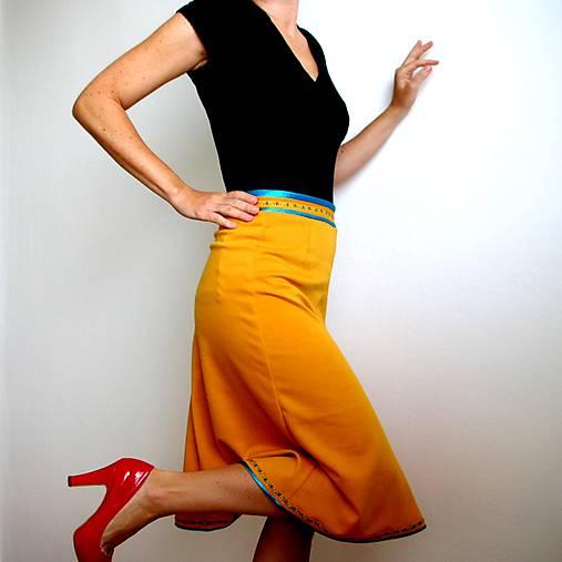 retro sukňa - ako moja mama :)