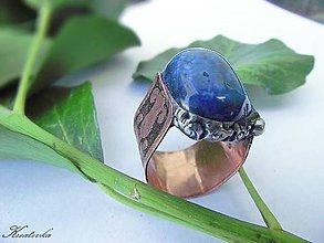 Prstene - Rytierska česť......(lapis lazuli) - 5845534_