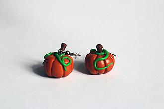 Náušnice - Náušnice - Tekvička | Halloween - 5846967_