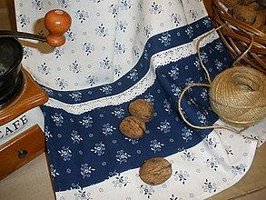 Úžitkový textil - ..utierka z modrotlače.. - 5846881_