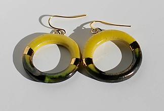 Náušnice - náušnice - zlaté krúžky - 5849845_