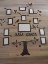 Dekorácie - Strom rodiny - Naša rodina - 5850459_