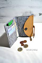 Peňaženky - Peňaženka do vrecka - 5852916_