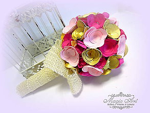 Kytice pre nevestu - Keď Radosť kvitne! - 5852562_