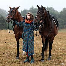 Iné oblečenie - CECIL- pletený kabát duhovaný - 5853162_