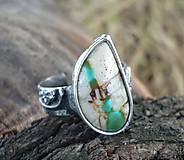 Prstene - Tyrkysová rieka - zľava 30 % - 5850473_