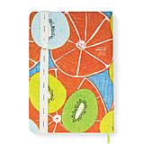 Papiernictvo - Zápisník A5 Orange Kiwi - 5850622_