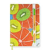 Papiernictvo - Zápisník A5 Orange Kiwi - 5850623_