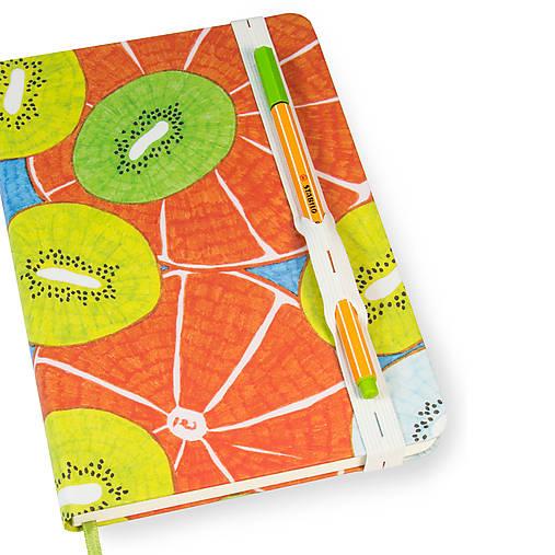 Zápisník A5 Orange Kiwi